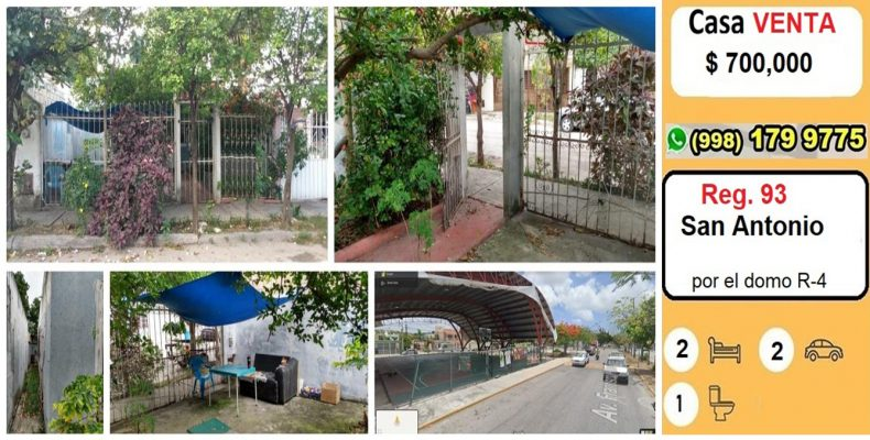 Casa San Antonio Venta $ 700,000
