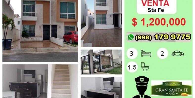 Casa en VENTA Sta Fe 3Recám $ 1,200,000 en Privada