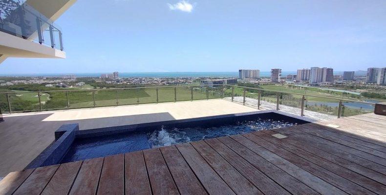 PH en Be Towers Pto Cancún 696 Mts2 $ 28 millones de pesos