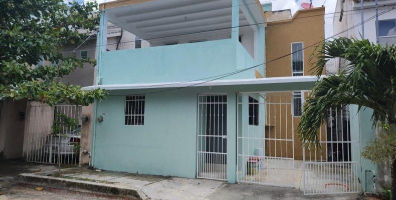 Casa en Renta Av La Luna SM 51 $ 8,000 Privada COCODRILO de 2 Recám